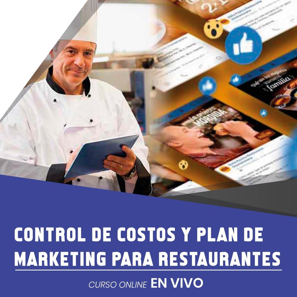 CONTROL DE COSTOS Y MARKETING