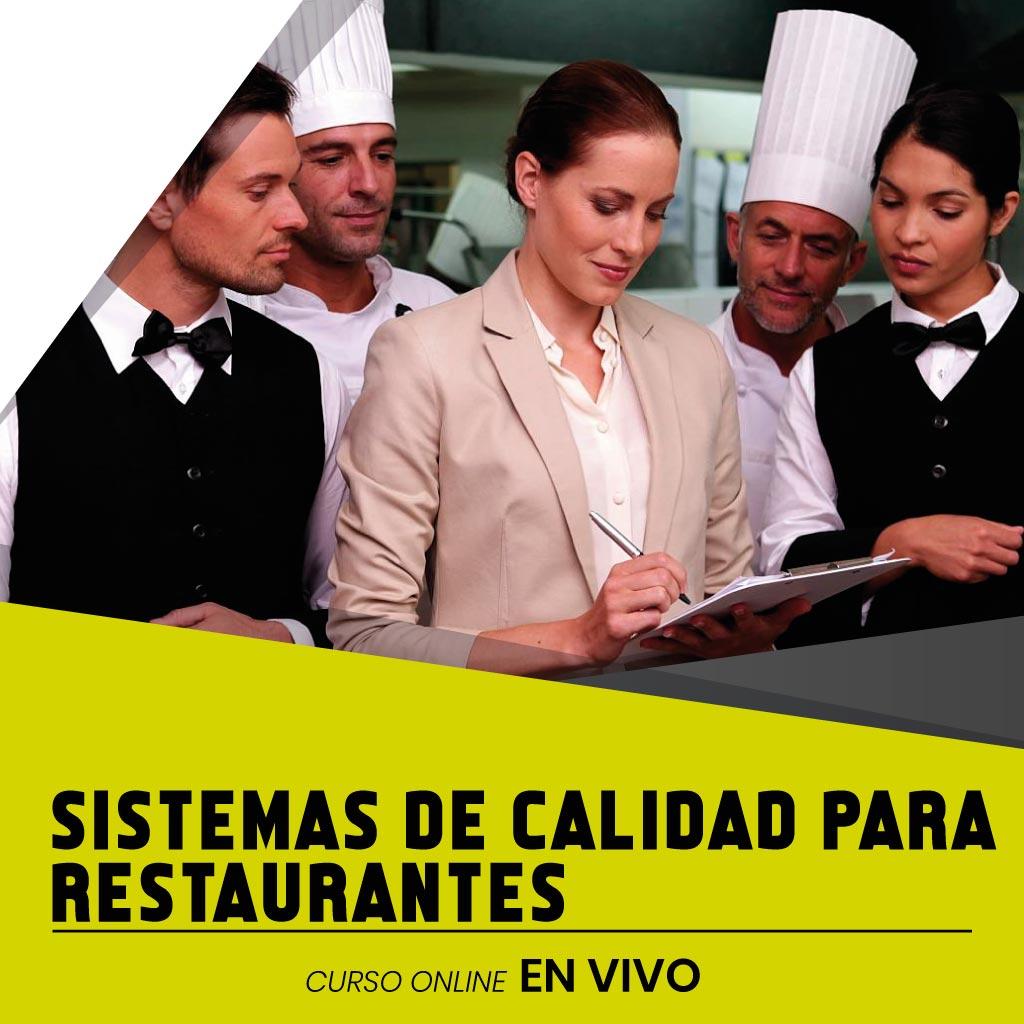 sistemas de calidad para restaurantes